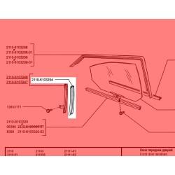 Lada Vega Kapı İçi, Cam Yan Kızak Lastiği