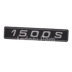 Lada Samara Arka Yazı, Amblem, '1500 S'