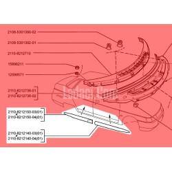 Lada Vega Kapı Süs Bantı, Çıta Takımı