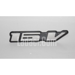 Lada Vega Arka '16 V' yazı, Amblem