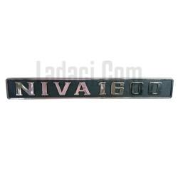 Lada Niva Arka 'Niva 1600' Yazı, Amblem