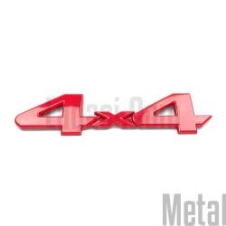 Lada Niva 4x4 Metal Yazı, Kırmızı
