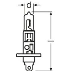 Far Ampülü, H1, 12V-55W