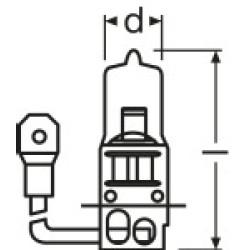 Far Ampülü, H3, 12V-55W