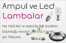 Ampul ve Led Lambalar
