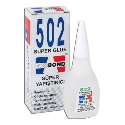 Evo Bond 502 Super Glue Süper Yapıştırıcı, Orjinal