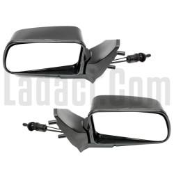 Lada Samara Dış Dikiz Aynası, Katlanabilir, Sağ + Sol Takım, Siyah